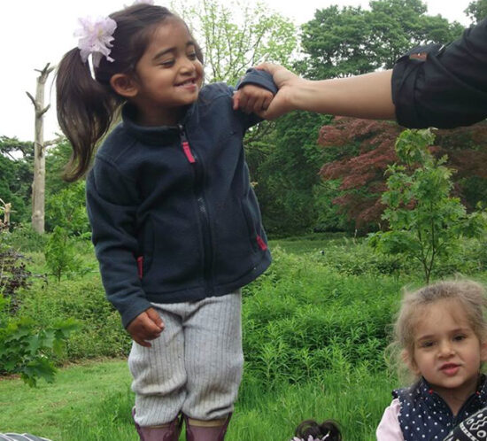 A Forest School day out in May